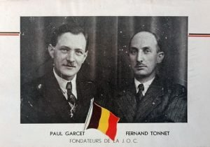 Fernand Tonnet and Paul Garcet 75 years