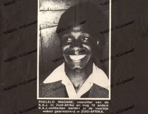 Remembering Phelelo Magane