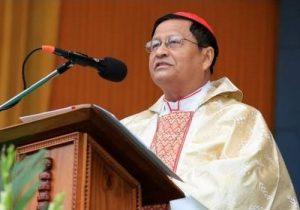 Church must assert role as peacemaker: Cardinal Bo